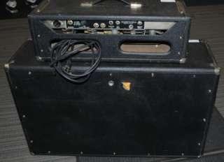 1965 BANDMASTER (PRE CBS) AMP W/ 3 10 SPEAKER CABINET _WC