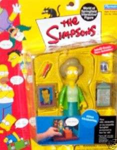 Edna Krabappel Action Figure/Simpsons/World Springfield