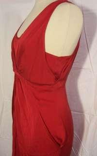 NWT CATHERINE MALANDRINO PLEATED STARBURST DRESS sz 8