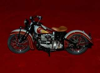 DIE CAST REPLICA 110 HARLEY DAVIDSON INDIAN MOTORCYCLE 1938