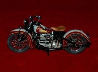 DIE CAST REPLICA 110 HARLEY DAVIDSON INDIAN MOTORCYCLE 1938