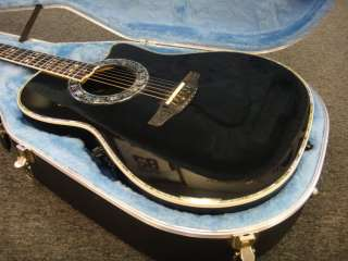 CUSTOM LEGEND ACOUSTIC ELECTRIC GUITAR MODEL 1869 W/ CASE