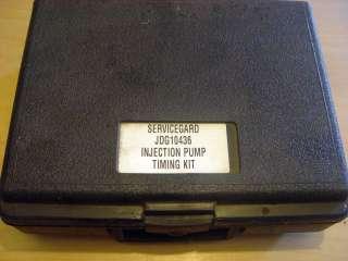 John Deere Servicegard JDG10436 Injection Pump Timing Kit #2