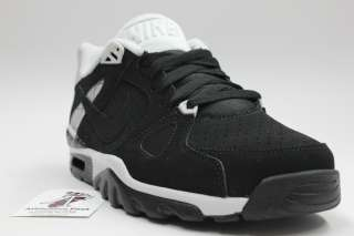 NIKE MEN AIR TRAINER CLASSIC SNEAKERS NEW AUTHENTIC RETRO BLACK 488059