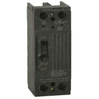 GE 200 Amp 5 in. Double Pole Main Circuit Breaker TQD22200WL at The