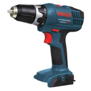 Bosch 18 Volt Compact Lithium Ion Drill Driver Bare Tool DDB180B at