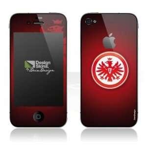 Design Skins für Apple iPhone 4 [mit Logo Cut]   Eintracht Frankfurt