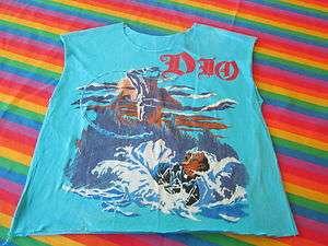 DIO 1984 HEAVY METAL VINTAGE CONCERT MUSCLE SHIRT
