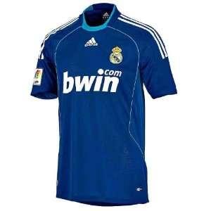 Adidas Real Madrid Auswärts Trikot blau 2008/2009 Farbe blau