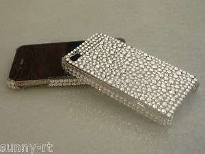 APPLE**IPHONE 4**COVER****STRASS**SILBER****HÜLLE***