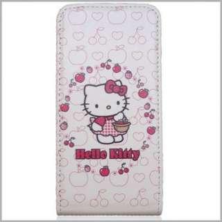 Hello Kitty Flipstyle Handy Tasche für ihren Apple iPhone 4 / 4G