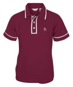 NEW Boys Kids Original PENGUIN Earl Polo T Shirt L