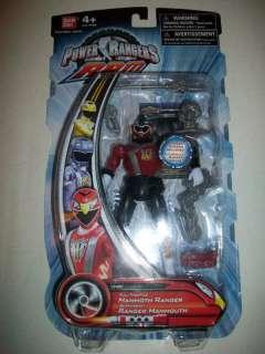 Power Rangers RPM Full Throttle Maroon Mammoth MOC