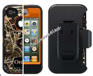 Defender Series CAMO Series Cover W/Belt Holster For Apple iPhone 4S
