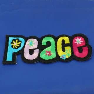 Hippie Flower Power Peace Aufnäher Patch Aufbügler 43
