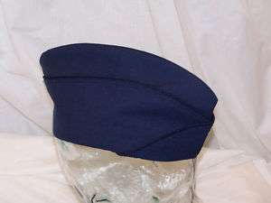 USAF BLUE 1608 POLY/WOOL GARRISON CAP 7 EACH H7559