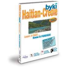 Byki Haitian Creole Learn Language Tutor w/ MP3 Audio
