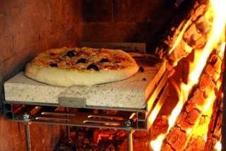 Pizza Casa Pizzastein mit Zubehör 10 teilig für Kamine