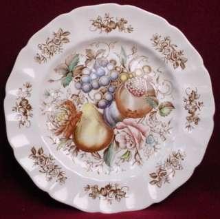 JOHNSON BROTHERS china WINDSOR FRUIT pttrn DINNER PLATE