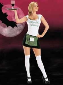 true blood SOOKIE vampire telepathic waitress costume L