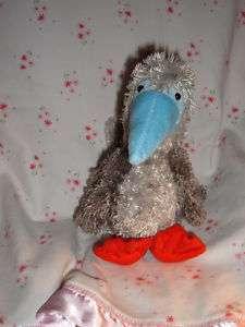 Gund Red Footed BOOBY BIRD 46365 Blue Beak Plush Rare Stuffed Animal