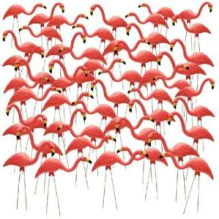 27 in. Pink Flamingos 50 Pack HDR 499508