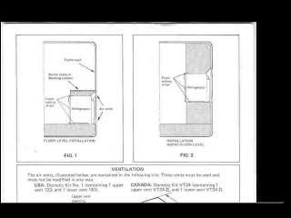 CAMPLITE DAMON CAMPER TRAILER RV OPERATION FRIG MANUALs