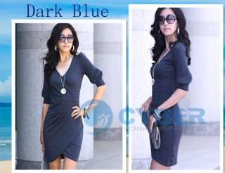 Womens Lady New Fashion Tailer made Dresses Party Mini Club Wear