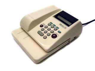 MAX Electronic Check Writer model number EC 70 EC70