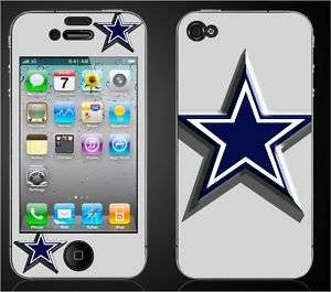 DALLAS COWBOYS Iphone 4 Decal Sticker Skins DM. logo