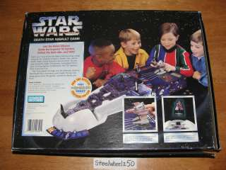 Star Wars Death Star Assault 3 D Board Game 1995 PB OOP