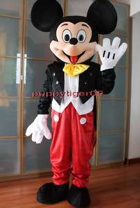 New Mickey Mouse Mascot Costume Fancy Dress BIG SALE