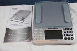 Watchers PointsPlus Electronic Food Scale Calculator + Manual