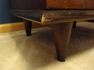 Mid Century Link Taylor Nighstand Eames Era Dove Tailed