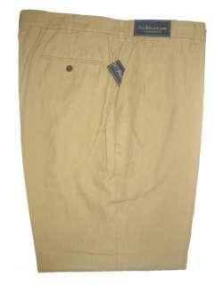 SUMMER SEASN POLO RALPH LAUREN MENS LINEN COTTON DRESS PRESTON PANTS