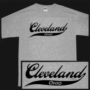 CLEVELAND OHIO OH INDIANS CAVALIERS BROWNS SS T shirt