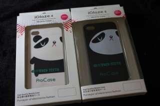 2pcs Pair Xslim Panda Couple Apple iPhone 4 Cases O050