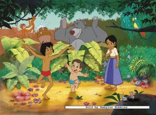 jigsaw puzzle 150 pcs Disney   Jungle Book 2 Mowgli and Ranjan