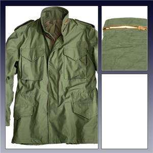 ALPHA INDUSTRIES M 65 FIELD COAT OLIVE JACKET 2XL M65
