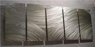64 ABSTRACT ART METAL CONTEMPORARY MODERN WALL DECOR