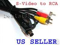 Pin S Video to RCA Cable for Dell Acer Compaq Laptop