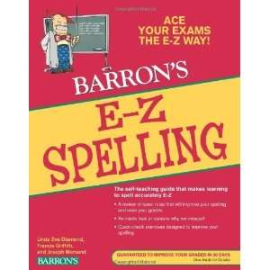E Z Spelling (Barrons E Z Series) [Paperback]: Linda Eve
