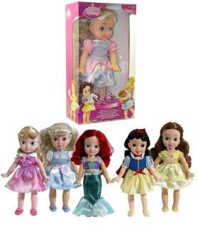 DISNEY SOFT SWEET LITTLE CINDERELLA PRINCESS GIRL DOLL