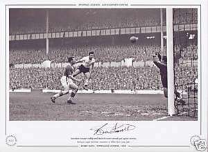 Tottenham Hotspur (Spurs) 1958   Bobby Smith Signed