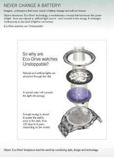 | CITIZEN PROMASTER ECO DRIVE E2100 CHRONOGRAPHE NOIR