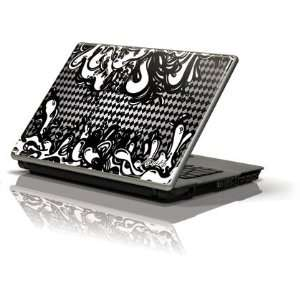 Black Argyle Lava skin for Generic 12in Laptop (10.6in X 8