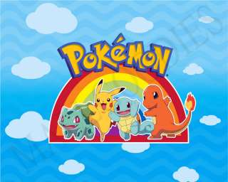 M062 Pokemon Ash Ketchum Misty Pikachu Brock Mouse Pad