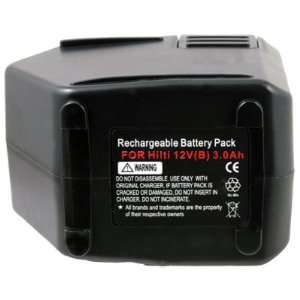 For HITACHI SBP12 Cordless Drill 12V Power Tool Battery