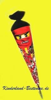 LEGO NINJAGO ZUCKERTÜTE SCHULTÜTE 22 cm RUND