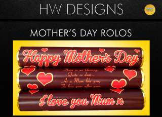 Happy Mothers Day Chocolate Rolos Gift   I Love You Mum x   Poem